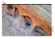 Valley Of Fire Rainbow Sandstone Carry-all Pouch