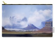 Valley Of The Gods Carry-all Pouch by Leland D Howard