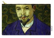 Van Gogh: Dr Rey, 19th C Carry-all Pouch