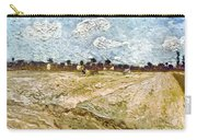 Van Gogh: Fields, 1888 Carry-all Pouch