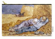 Van Gogh: Noon Nap, 1889-90 Carry-all Pouch