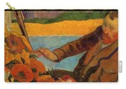 Van Gogh Painting Sunflowers 1888 Carry-all Pouch