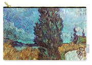 Van Gogh: Road, 1890 Carry-all Pouch
