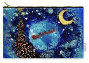 Van Gogh's Starry Night Wreath Carry-all Pouch