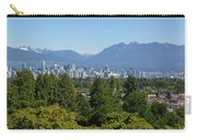 Vancouver Bc City Skyline From Queen Elizabeth Park Carry-all Pouch