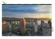 Vancouver Bc Cityscape At Sunset Carry-all Pouch
