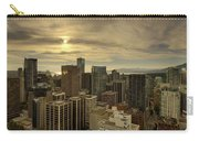 Vancouver Bc Cityscape During Sunset Carry-all Pouch