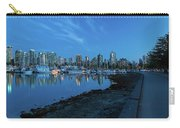 Vancouver Bc Skyline Along Stanley Park Seawall Carry-all Pouch
