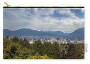 Vancouver Bc Skyline Daytime View Carry-all Pouch