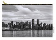 Vancouver In Black And White. Carry-all Pouch