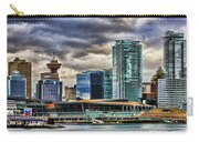 Vancouver Skyline Hdr Carry-all Pouch