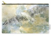 Vanishing Seagull Carry-all Pouch by Melanie Viola
