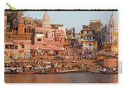 Varanasi From Ganges River Carry-all Pouch