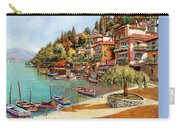Varenna On Lake Como Carry-all Pouch by Guido Borelli