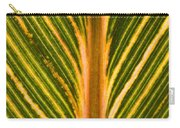 Variegated Banana Leaf Carry-all Pouch