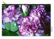 Variegated Carnations Carry-all Pouch