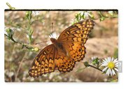 Variegated Fritillary Carry-all Pouch