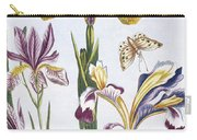Variegated Iris Carry-all Pouch