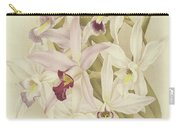 Varieties Of Laelia Anceps Carry-all Pouch
