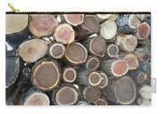 Various Firewood In The Round Carry-all Pouch