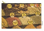 Various Spices Carry-all Pouch