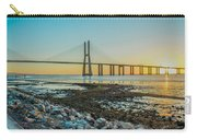 Vasco Da Gama Bridge Carry-all Pouch