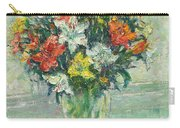 Vase Lilies Painting Carry-all Pouch