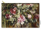Vase Of Flowers, 1871  Carry-all Pouch