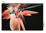 Vase Of Flowers Abstract Carry-all Pouch