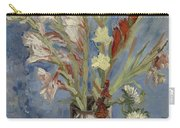 Vase With Gladioli And Chinese Asters Paris, August - September 1886 Vincent Van Gogh 1853  1890 Carry-all Pouch
