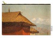 Vasily Vasilievich Vereshchagin  Russian 1842  1904 Nepalese Village Carry-all Pouch