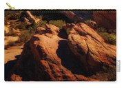Vasquez Rocks And Stars Carry-all Pouch