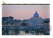 Vatican City At Sunset Carry-all Pouch