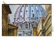 Vatican City Carry-all Pouch by Irina Sztukowski