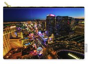 Vegas At Dusk Carry-all Pouch