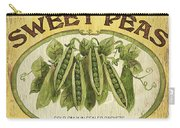 Veggie Seed Pack 1 Carry-all Pouch by Debbie DeWitt