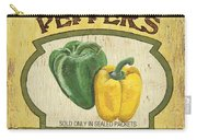 Veggie Seed Pack 2 Carry-all Pouch by Debbie DeWitt