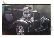 Vehicle- Black Hot Rod  Carry-all Pouch