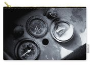 Vehicle Dials In Dust Carry-all Pouch