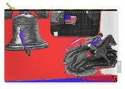 Vehicle Liberty Bell Paul Revere Flag Bicentennial Of Constitution Tucson Arizona 1987-2015 Carry-all Pouch