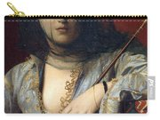 Veiled Circassian Lady Carry-all Pouch