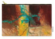 Vein Turquoise Carry-all Pouch