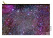 Vela Supernova Remnant In The Center Carry-all Pouch
