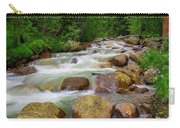 Velvet Green Forest Carry-all Pouch