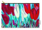 Velvet Tulips Carry-all Pouch