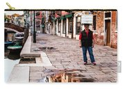 Venetian Baker, Reflection, Rain Puddle Carry-all Pouch