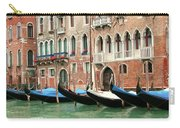 Venetian Gondolas Waiting Carry-all Pouch