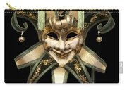 Venetian Mask Carry-all Pouch by Fabrizio Troiani