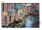 Venezia In Rosa Carry-all Pouch by Guido Borelli