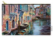 Venezia In Rosa Carry-all Pouch